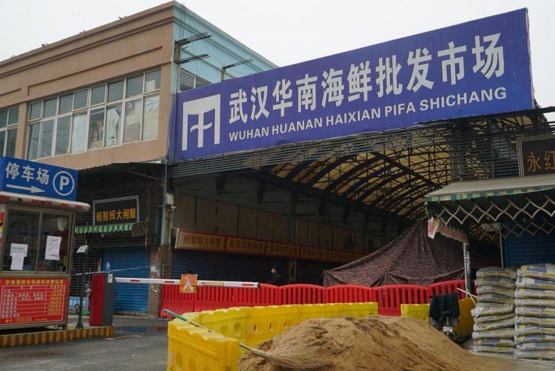 Huanan seafood market ; Birthplace of Coronavirus