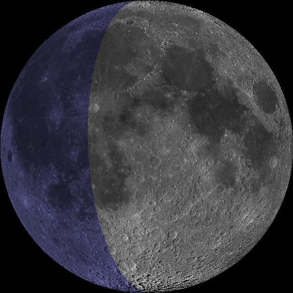 Image of moon at second perigee in June 2020.