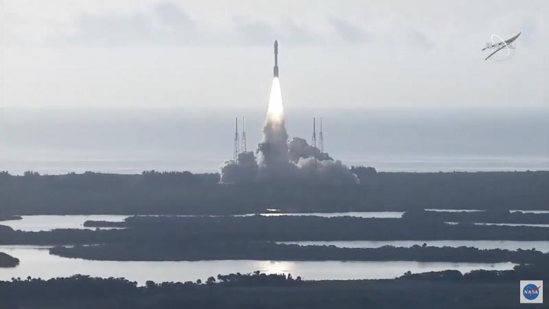 Spacecraft launch.