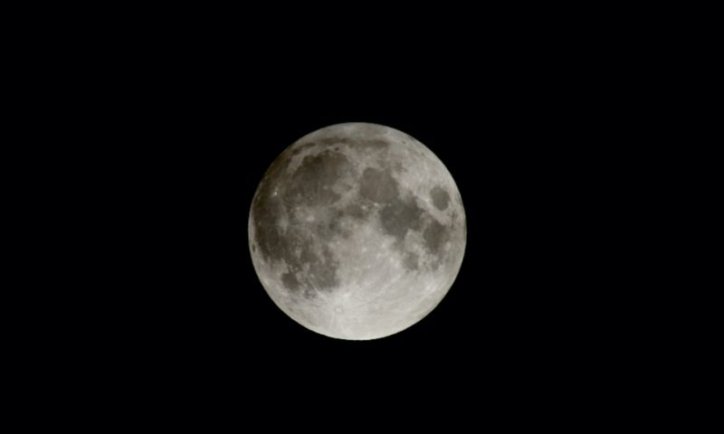 Moon in penumbral eclipse.