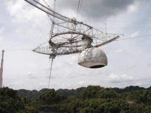 Gregorian dome at Arecibo Observatory.