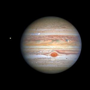 Cool new Hubble portrait of Jupiter's storms - EarthSky