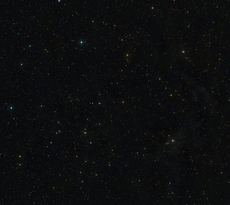 A star field.
