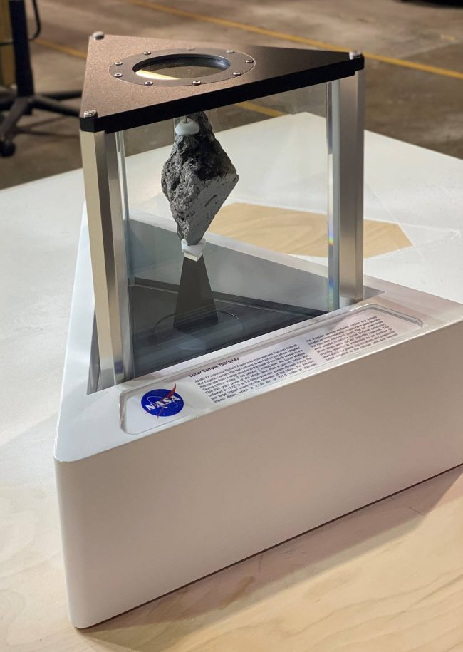 A moon rock decorates Biden's Oval Office | Human World | EarthSky