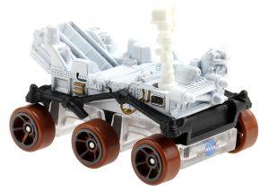Small detailed model of six-wheeled vehicle.