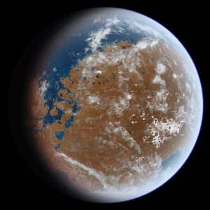 Mars' missing water might still be in its crust | EarthSky.org