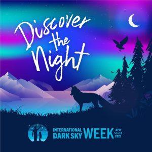 Poster for International Dark Sky Week.