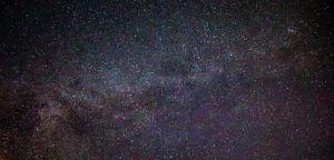 Stars and star clouds of Milky Way.