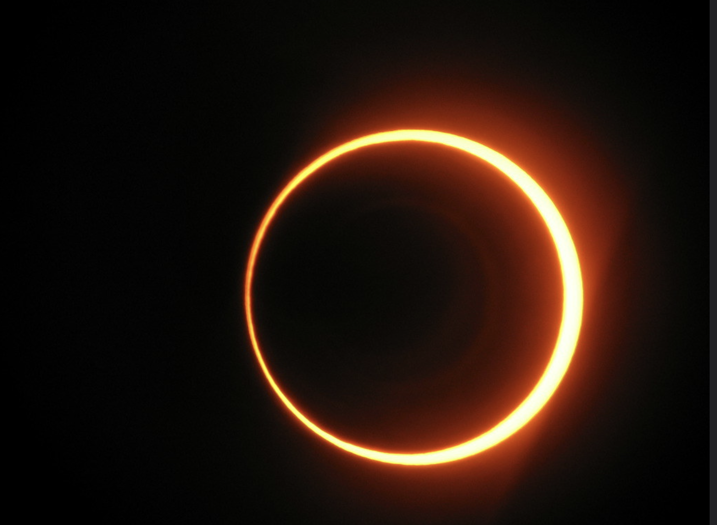 Ring of fire' solar eclipse on June 10 'Ring of fire' solar eclipse on June  10